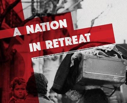 "VISITA GUIADA A LEXPOSICIÓ · ""A NATION IN RETREAT"""