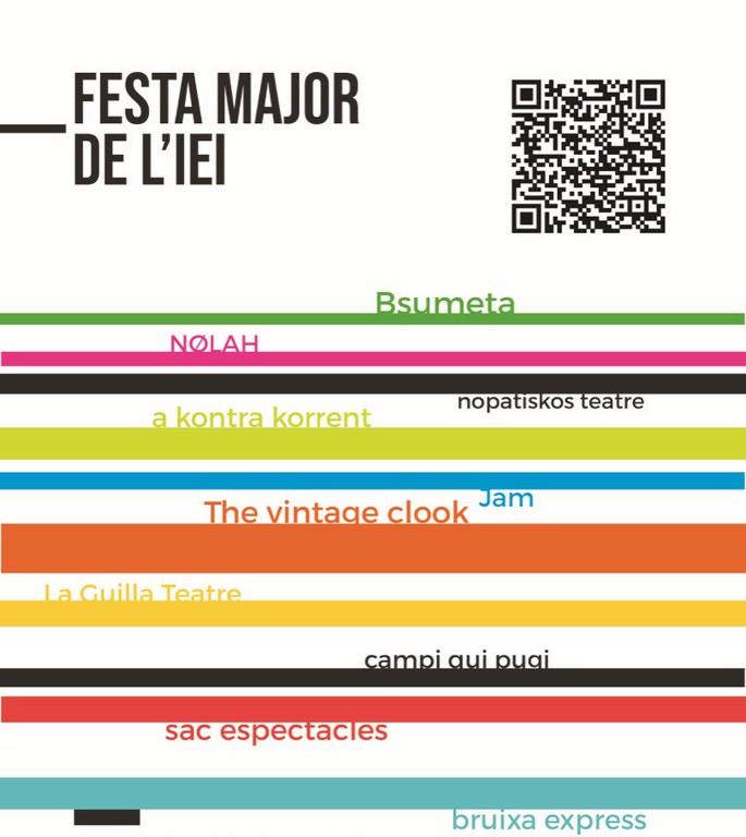 PREGÓ DE LA FESTA MAJOR DE L'IEI