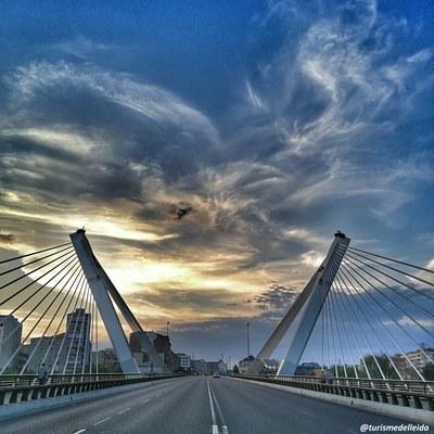 Pont de Princep de Viana o Pont dels Tirants