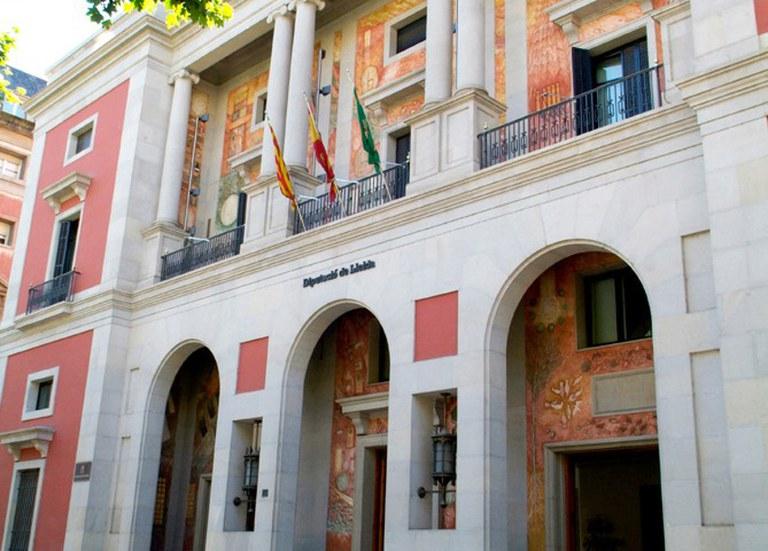 VISITA AL EDIFICIO DEL PALACIO DE LA DIPUTACIÓN DE LLEIDA